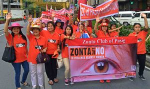 Zonta Says No